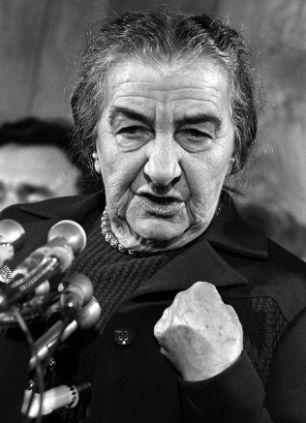 Hatred lust and the first Iron Lady GOLDA MEIR by Elinor