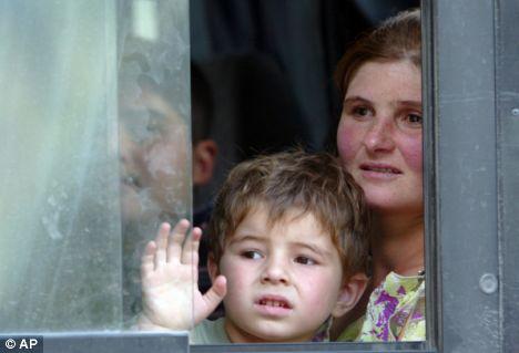 refugees south ossetia
