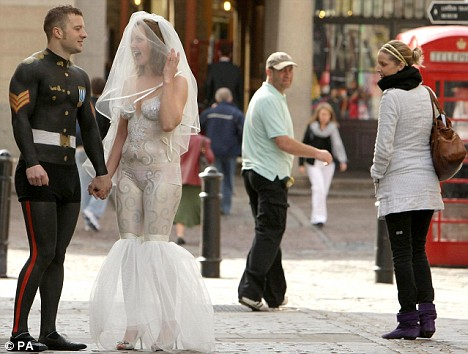Brides Strip Off For GMTV As They Fight For The Chance To