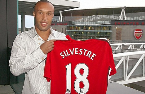 Silvestre came through his first apperance well