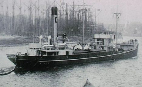 Divers also found the SS Letchworth which was sunk by the Luftwaffe in 1940