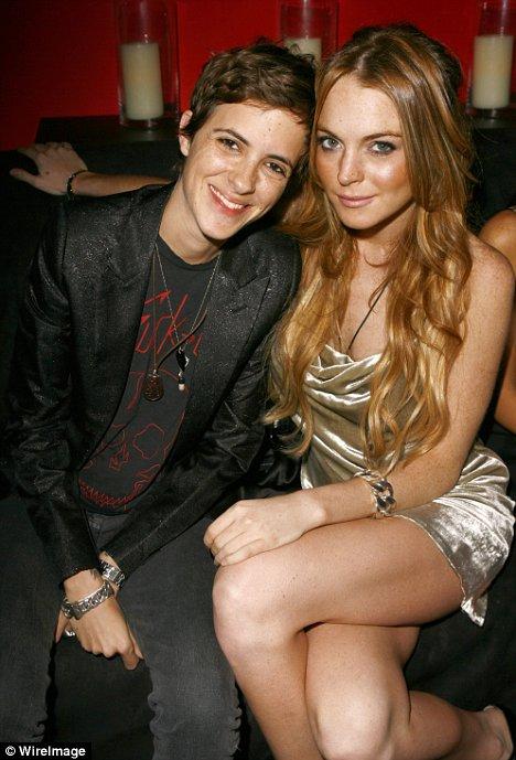 Samantha Ronson and Lindsay Lohan