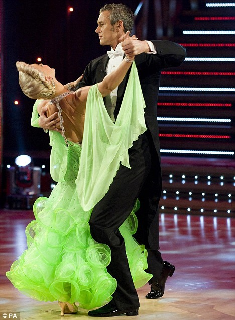Strictly Come Dancings Mark Foster Bares All As He Does A