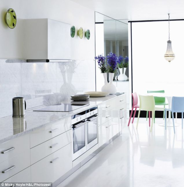 kitchen mirrors mobile islands for kitchens house revivals using in the