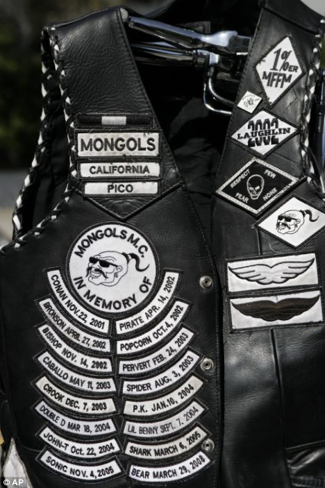 California Motorcycle Club Patches