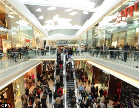 Traders threaten Westfield owners with revolt over charges