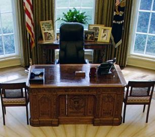 Inside Obamas Oval Office The plush furnishings awaiting