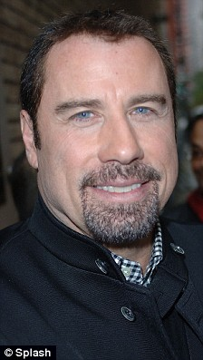 Hair Today John Travolta Shows Off The Glossy Mane Hes
