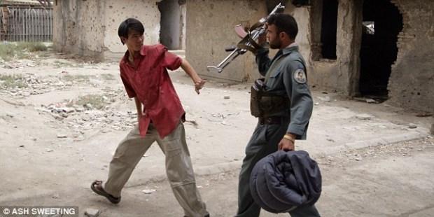 Drug raid in Kabul