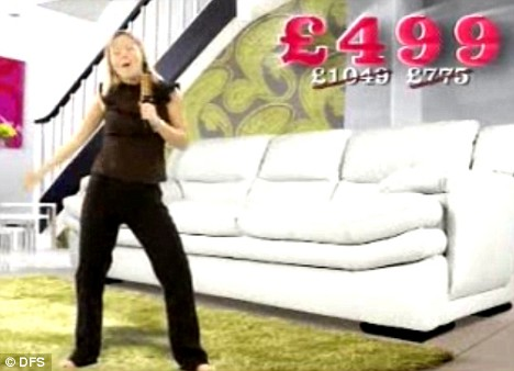 dfs metro sofa review modern italian leather furniture ads banned for shrinking actors to make sofas look