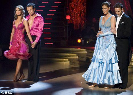 AUSTIN HEALEY DANCES WITH ERIN BOAG and LISA SNOWDON DANCES WITH BRENDAN COLE