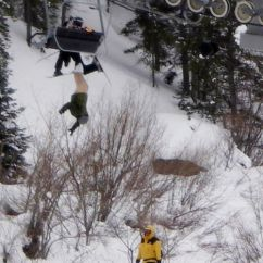 Chair Lift Accident Barber Chairs Craigslist Southern Exposure: Man Left Dangling Trouserless And Upside Down After Vail Ski Mishap ...