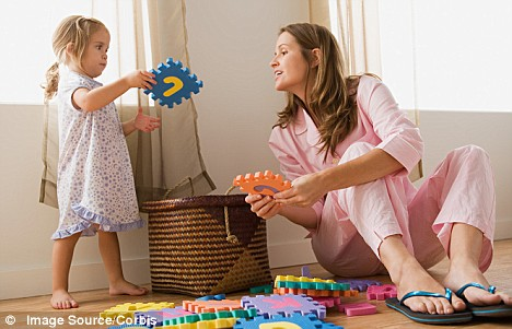 Image result for mother and daughter playing