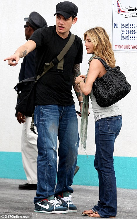 Look Everyone He IS Into Me Jennifer Aniston Shares A