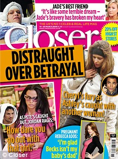 The full interview with Ruth is in this week's edition of Closer