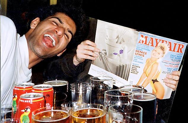 Anjem Choudary as a university student