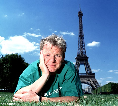 Image result for gordon ramsay, french