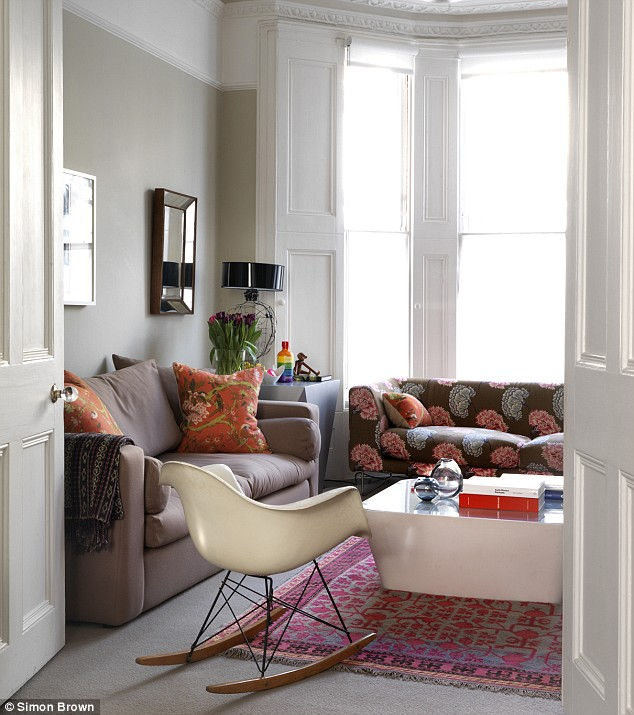 living room design with grey walls decor sofa interiors special: suzy's decor-licious space ...