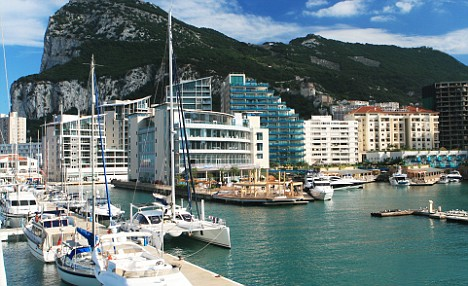Ocean Village, Rock of Gibraltar