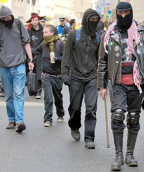 Image result for anarchist groups