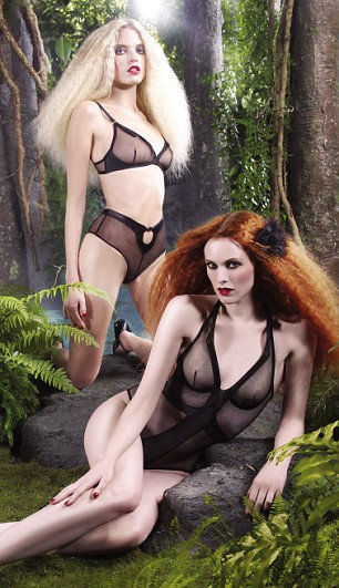 Lingerie from Agent Provocateur's new spring/summer range