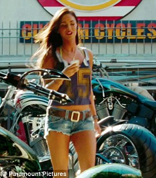 Megan Fox Transformers: Revenge of the Fallen
