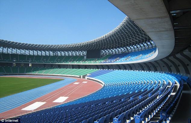 Solar powered World Games Stadium