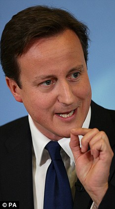 David Cameron 'hardened his position', saying the issue should be debated on