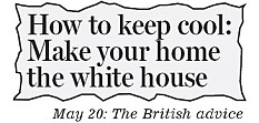 Now Obama's administration agrees: Paint your houses white