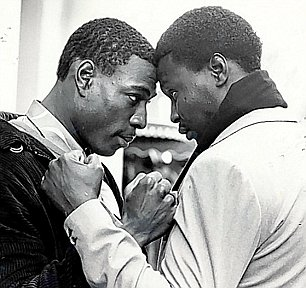 Frank Bruno and Funso Banjo