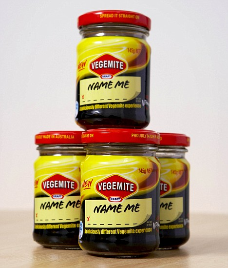 The new, creamier spread that is due to be on store shelves by July 5. Consumers Down Under will be able to pick the name of the new Kraft treat