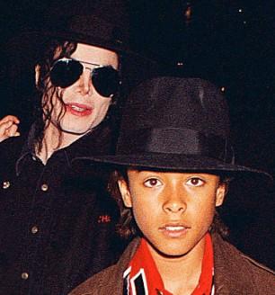 Michael Jackson with Jordan Chandler