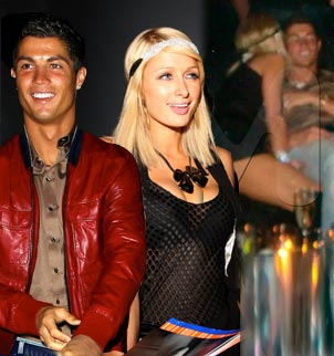 Ronaldo & Paris night out