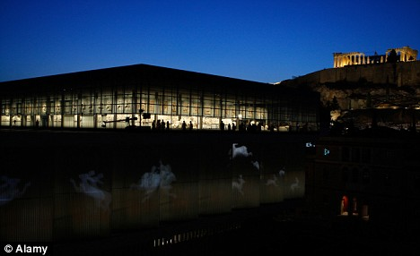 The New Acropolis museum in Athens