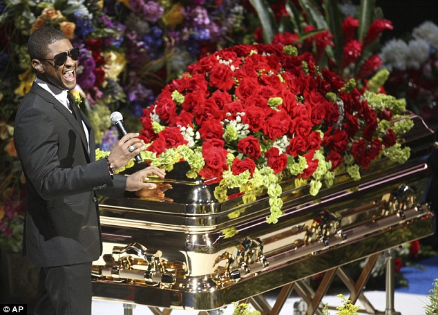 Michael Jacksons funeral and memorial service take place