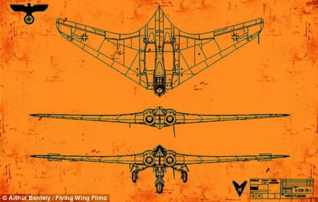 Ho 2-29 blueprint