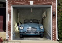 My other car's a jet... Or how to turn a garage door into