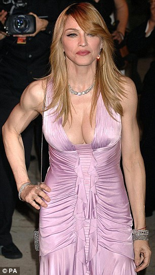 Madonna Takes A Vein Turn