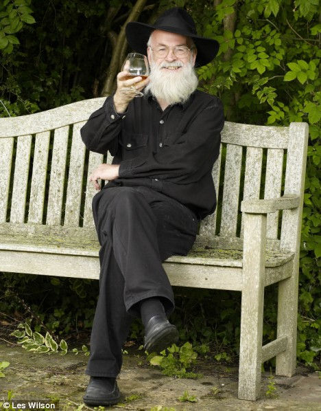 Terry Pratchett. Photo: Les Wilson