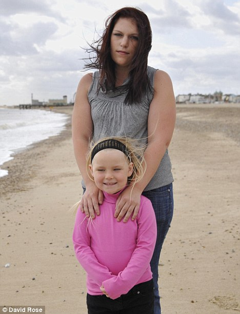 Sarah Capewell and her daughter Jodi