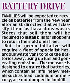 battery drive