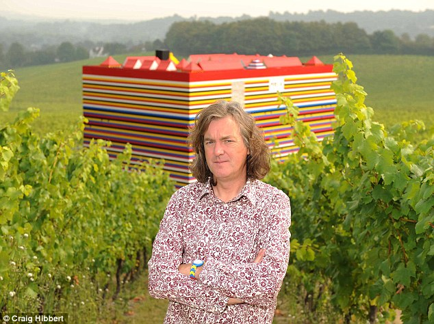 James May and his Lego house, intended to be put into Legoland, but in danger of being demolished instead