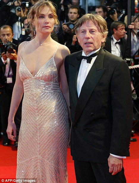 Sarkozy and Polanski are both short ... I wonder ...  |  Image source & courtesy - dailymail.co.uk  |  Click for image.
