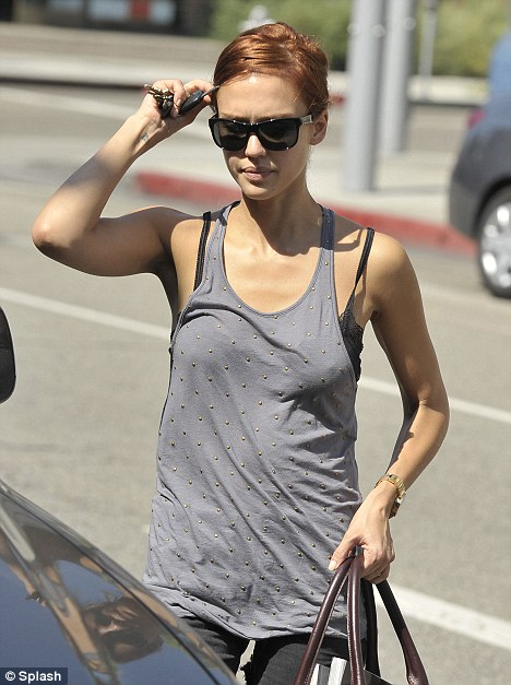 Has Jessica Alba Tired Of Her Tattoo And Gone For Laser