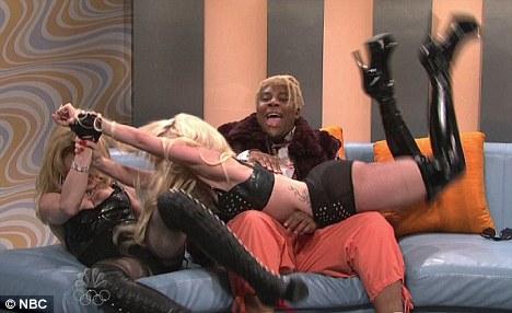 Gaga going mad loco on Madonna!