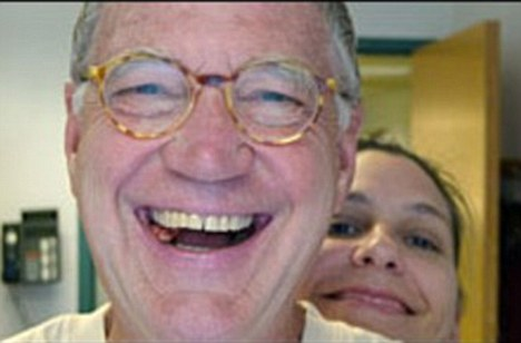 David Letterman & the girl who would kiss and tell, Stephanie Burkitt