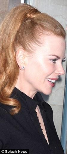 Nicole Kidman Gets A Croydon Facelift Daily Mail Online