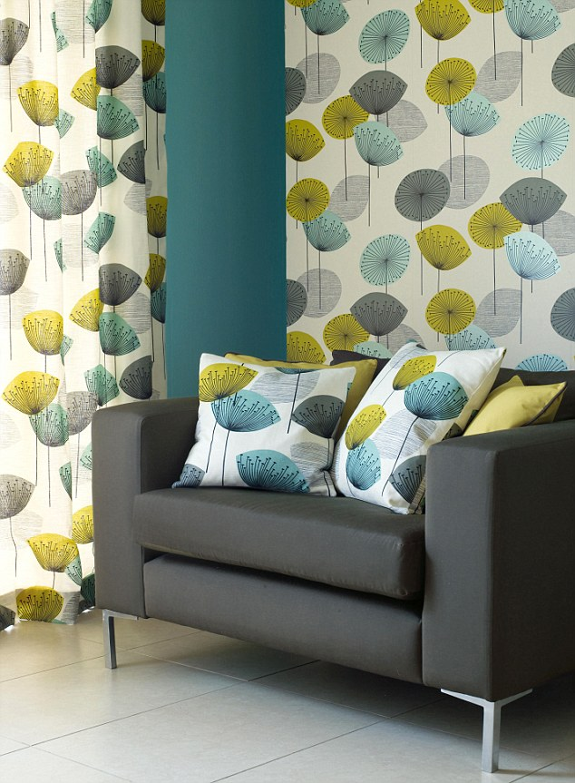 29 Best Images About Mid Century Wallpaper On Pinterest Stig