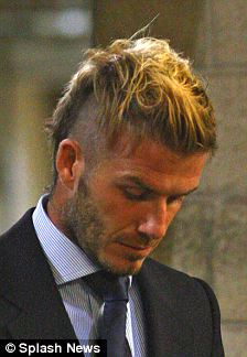 David Beckham Takes Style Lead From Jedward With Bizarre