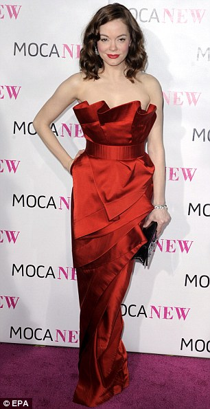 Rose McGowan arrives for The Museum of Contemporary Art (MOCA) 30th Anniversary Gala